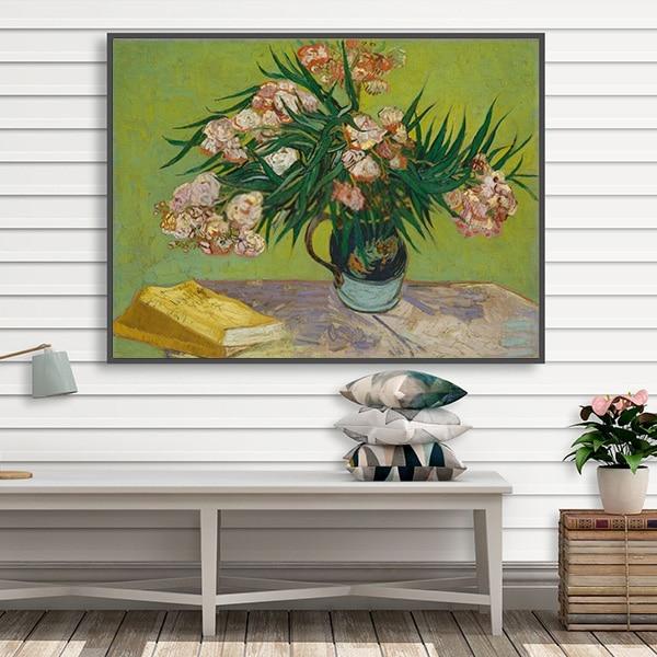 Tranh sơn dầu cây trúc đào Van Gogh