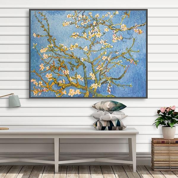 Bức tranh sơn dầu hoa hạnh nhân Van Gogh