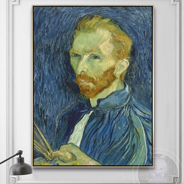 Chân dung tự họa Van Gogh
