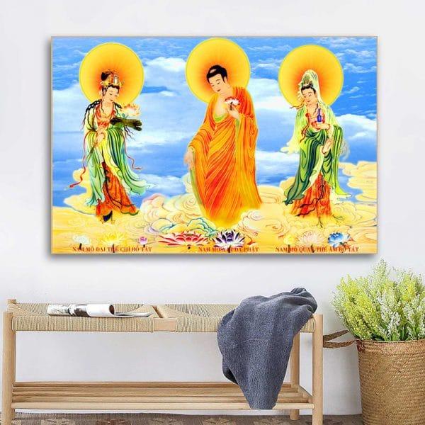 Tranh Phật A Di Đà CV01A525