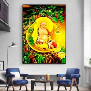 Tranh Phật Di Lặc CV01A526