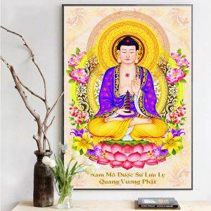 Bức tranh treo tường Phật Dược Sư CV01A527