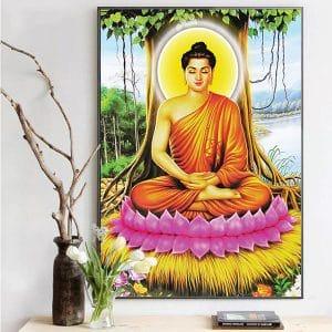 Tranh Phật Thích Ca Mâu Ni CV01A528