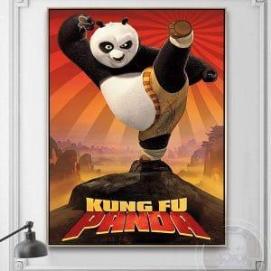 Tranh treo tường kung fu panda CV01A570