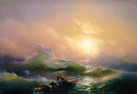 Ivan Aivazovsky: The ninth wave