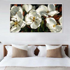 Tranh đơn hoa mai trắng CV01104
