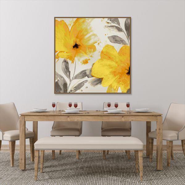 Tranh đơn hoa vàng CV0186