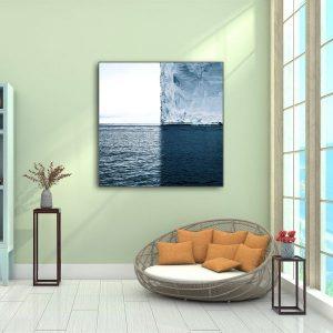 Tranh đơn trừu tượng nước biển CV0191
