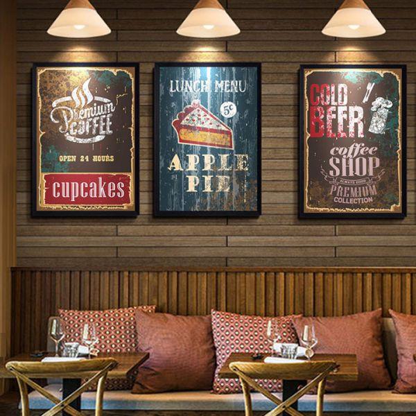 Chọn nội dung tranh tường phù hợp với không gian quán cafe