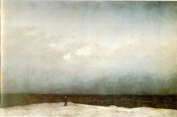Caspar David Friedrich: The Monk by the sea