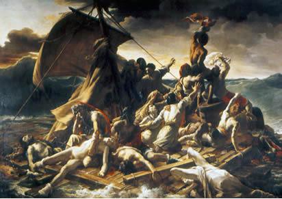 Theodore Gericault: The raft of the Medusa