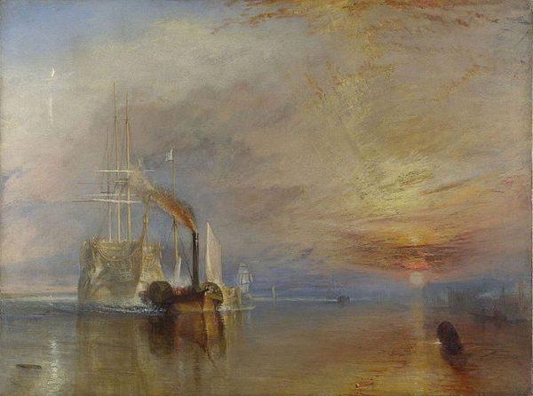 tranh phong cảnh biển THE FIGHTING TEMERAIRE
