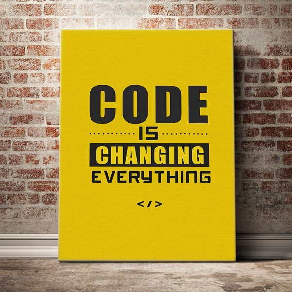 code is changing everything