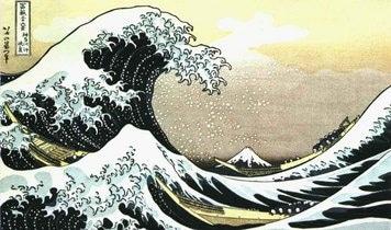 Katsushika Hokusai: The wave