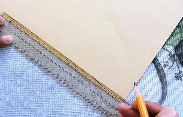 Sử dụng 1 mặt giấy lót