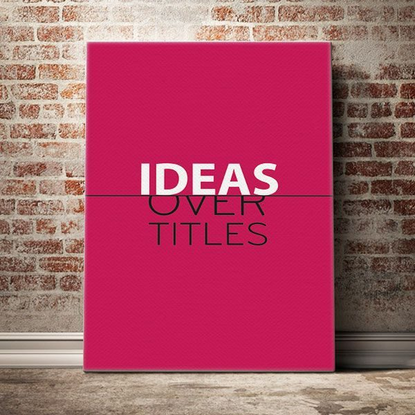 ideas-over-titles