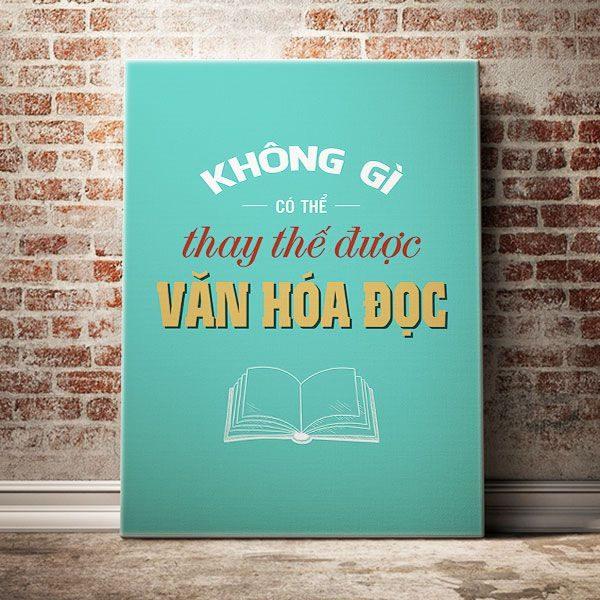 khong-gi-co-the-thay-the-van-hoa-doc
