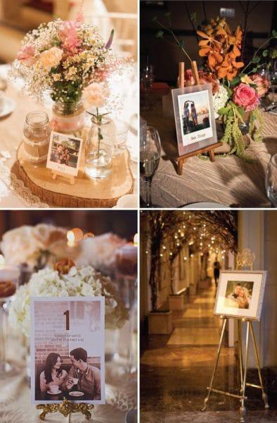 khung ảnh giá vẽ trang trí tiệc cưới