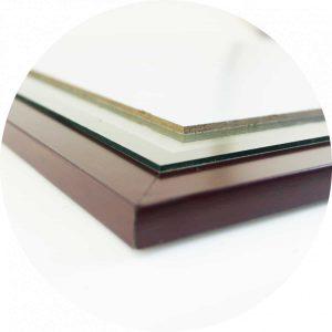 3 lớp vật liệu chế tạo khung bằng khen BK02