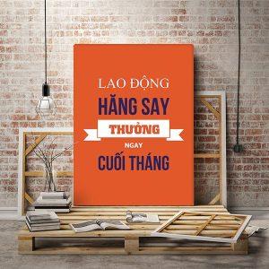 Tranh văn phòng Tiếng Việt