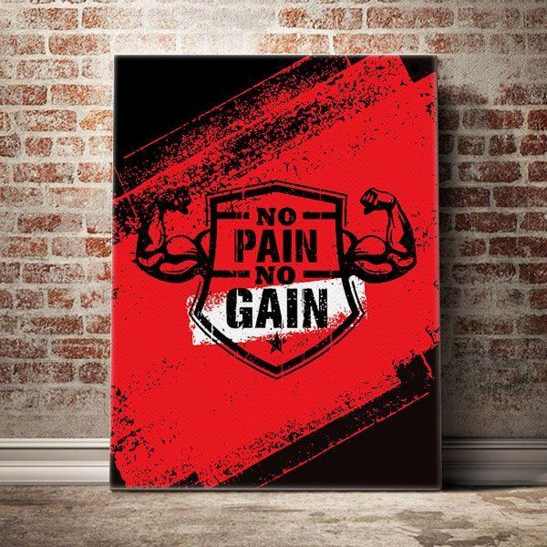 no-pain-no-gain