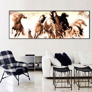 tranh-canvas-ngua-phong-thuy-CVC0136